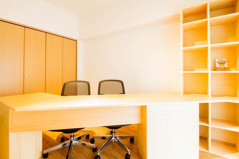 【居抜きオフィス】京都市南区エリア♪<br>内装造作付きのコンパクトオフィス!