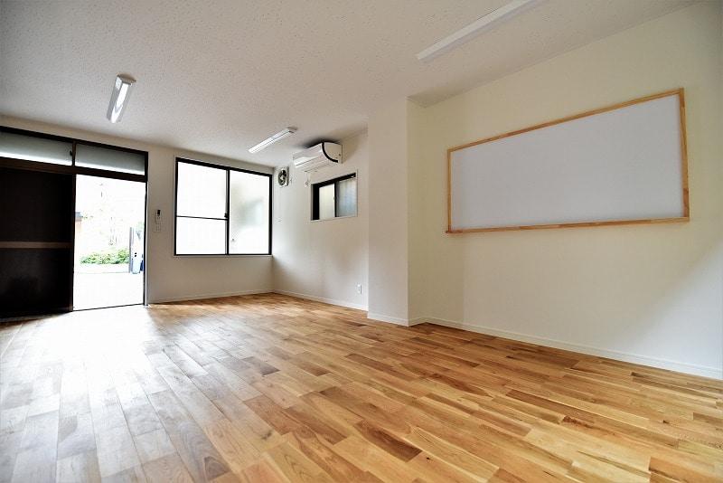 【デザイナーズオフィス】文京区エリア<br>1階、木目調で落ち着いた空間!