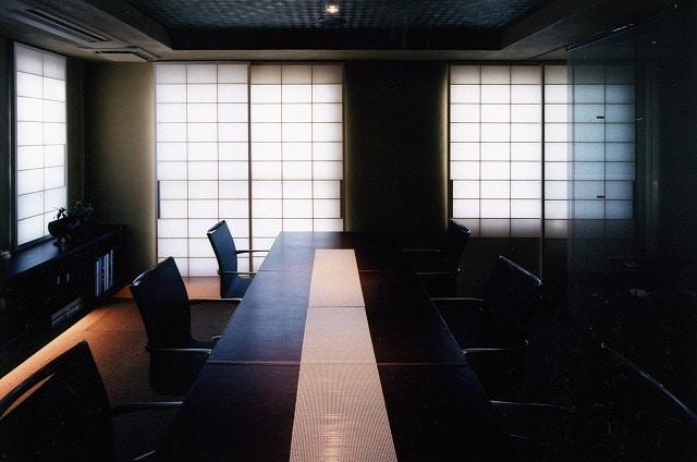 【デザイナーズオフィス】札幌市中央区♪<br>職人仕上げ、和風で個性的な雰囲気です。