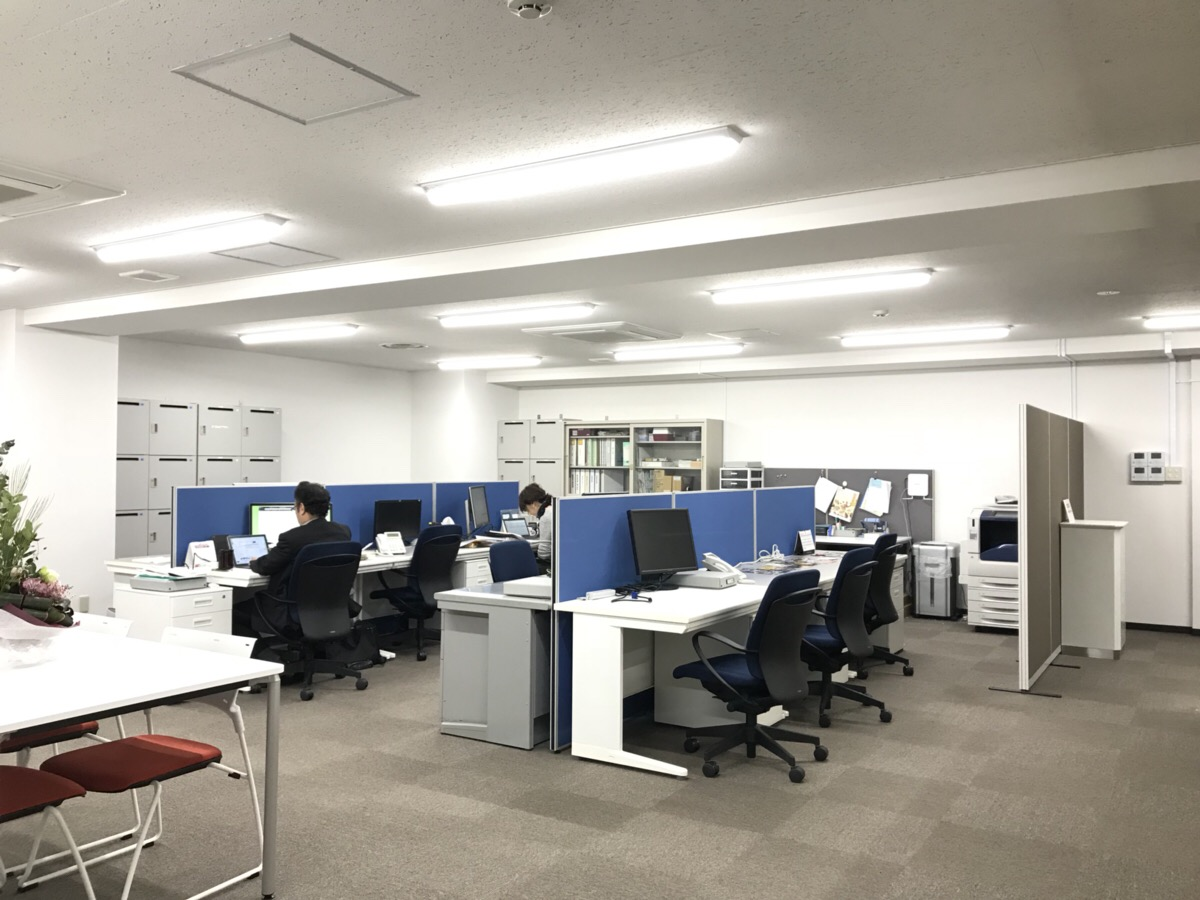 """【居抜きオフィスのご紹介】<br>""""札幌"""" """"中心部"""" 36坪"""