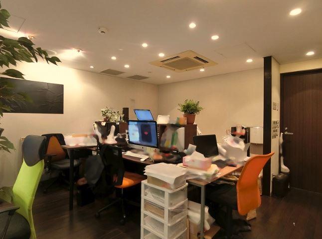 【居抜きオフィス】港区 赤坂エリア<br>ショールーム・サロンに最適。