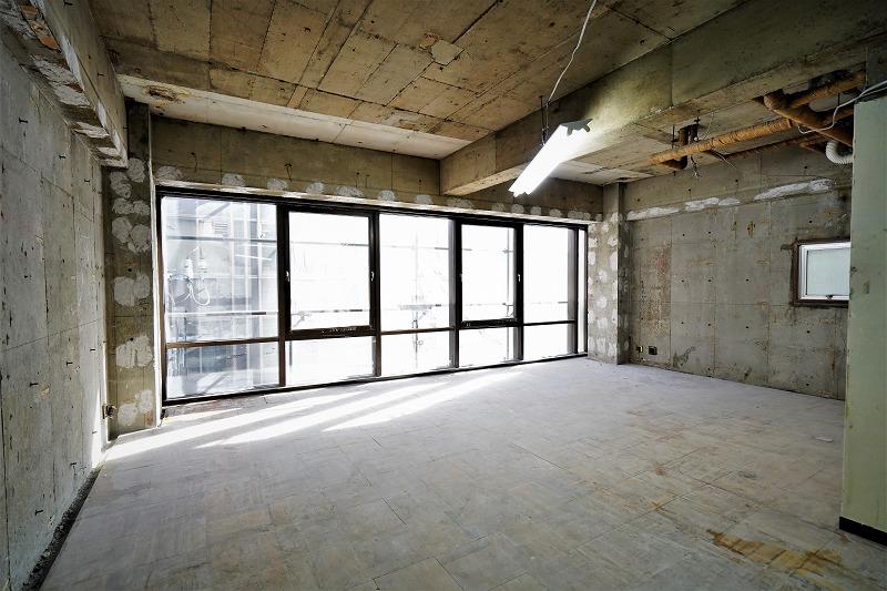 【一棟貸】可能性を秘めた屋上付スケルトン<br>東日本橋。5階建120坪を大改造のチャンス