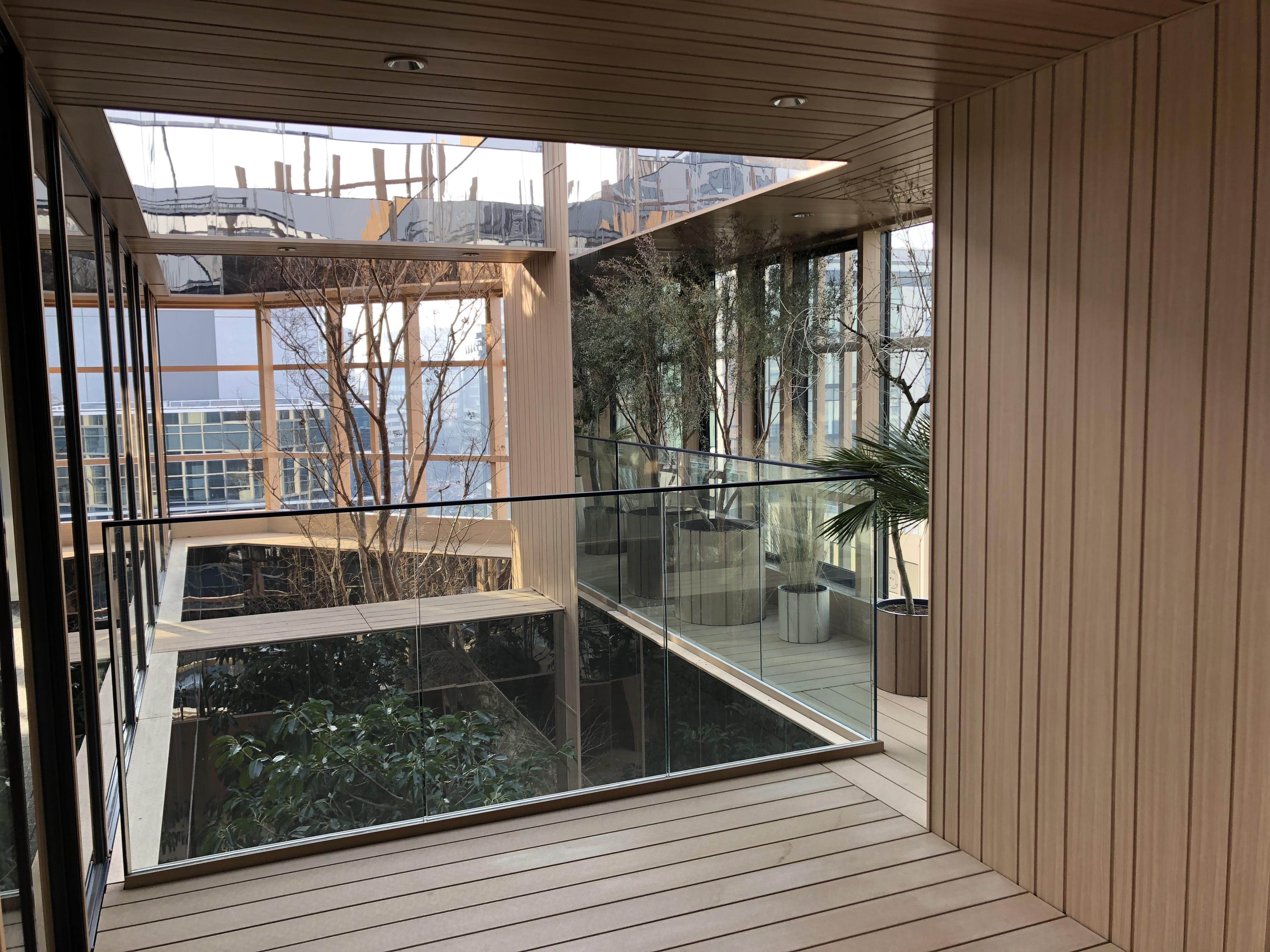【デザイナーズ】にぎわう麹町の新築ビル<br>植栽の美しいテラスに一目惚れするオフィス