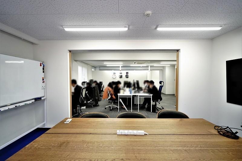 【居抜き】渋谷駅、約30坪。テラス付き。<br>大小の会議室をそなえた快適なオフィス