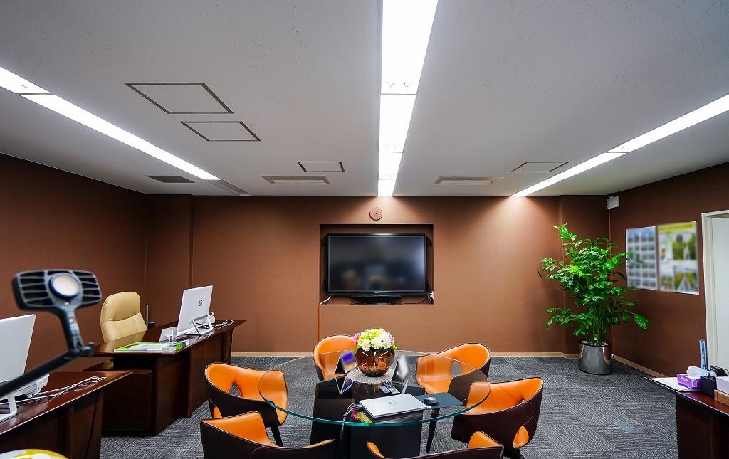 【居抜き】芝公園・三田。約60坪。<br>会議室、役員室、プロジェクター付き!