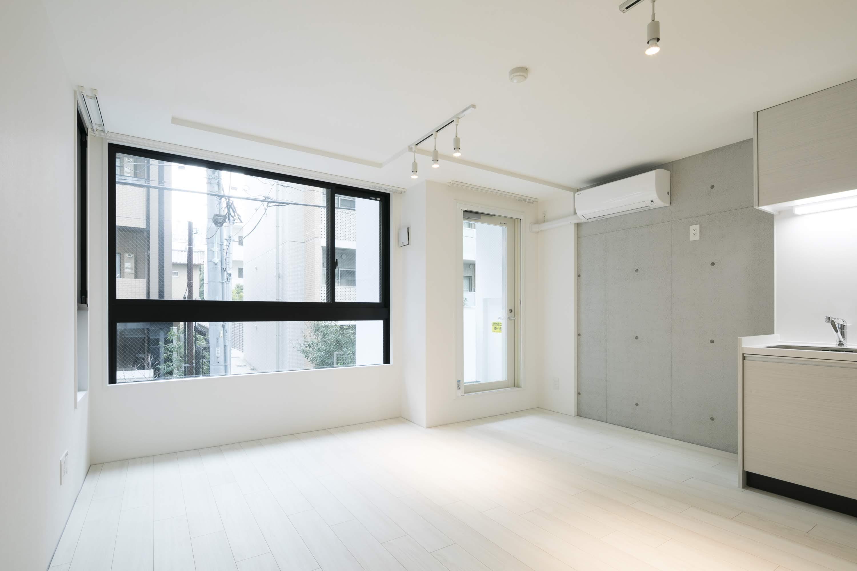 【デザイナーズ】麻布十番 新築未入居 マンションタイプをオフィスで利用