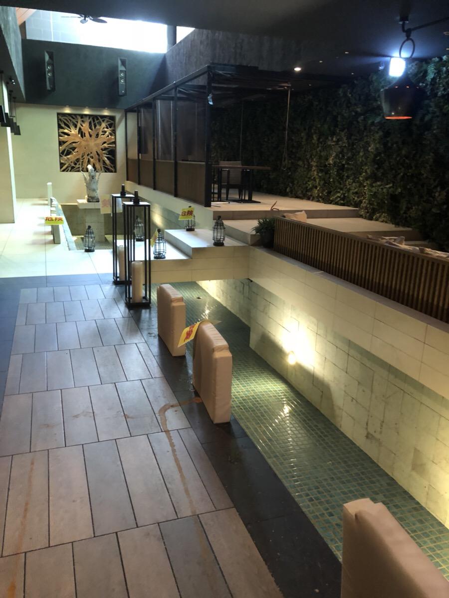 【居抜き】西梅田、約200坪。地下。<br>アクアリウム付きの半個室ダイニングバー