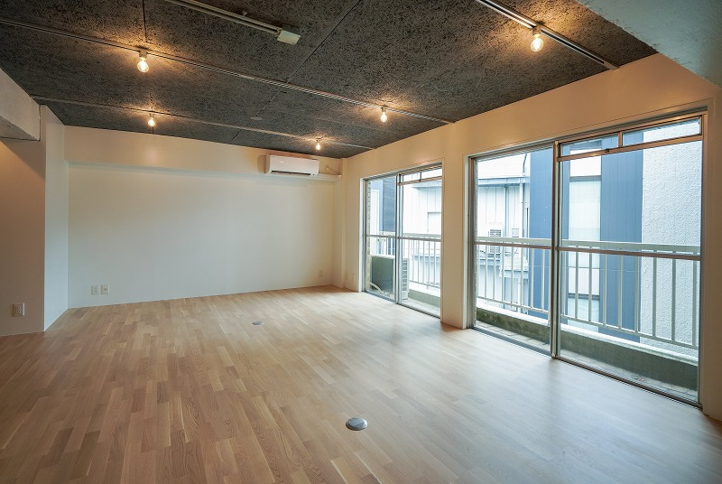 【デザイナーズ】北参道、約13坪。<br>レトロマンションのお洒落リノベ