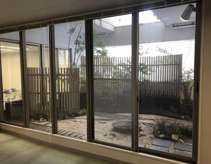 【居抜き】新栄エリア、約70坪。坪庭付き! 木のぬくもり溢れる癒し系オフィス!