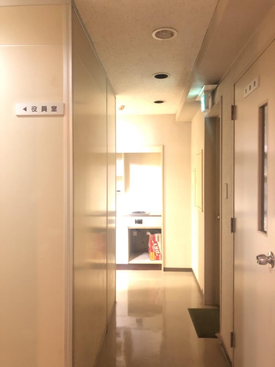 【居抜き】茅場町~日本橋、約25坪。<br>大きな応接間があるレトロなオフィス