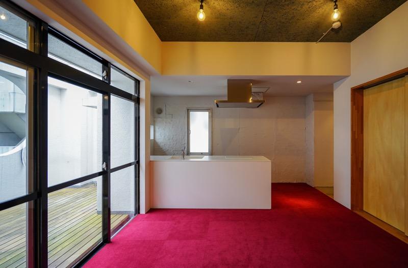 【デザイナーズ】茅場町、約35坪。<br>シャワールーム付きの最上階オフィス