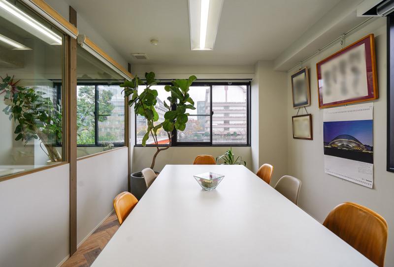 【居抜き】月島、約40坪。駅近。<br>会議室×2付きで家具譲渡も相談可