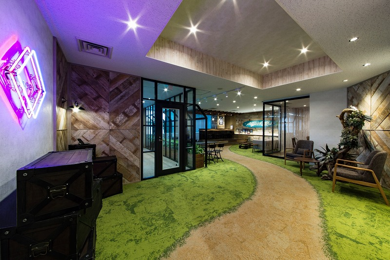 【居抜き】恵比寿駅 約50坪以上<br>会議室、ラウンジ有りの造作付きオフィス