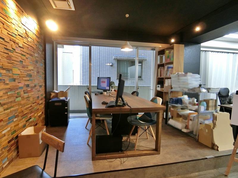 【居抜き】三田、約70坪。<br>カフェのような雰囲気のデザイナーズOffice