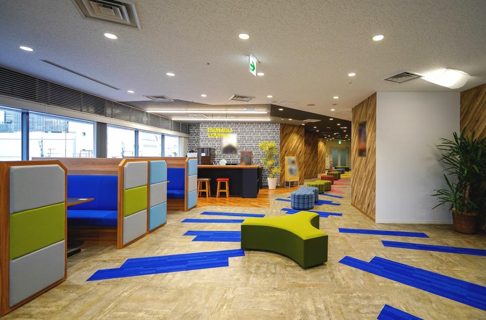 【居抜き】新宿、約300坪。<br>風通しの良いクリエイティブな空間。