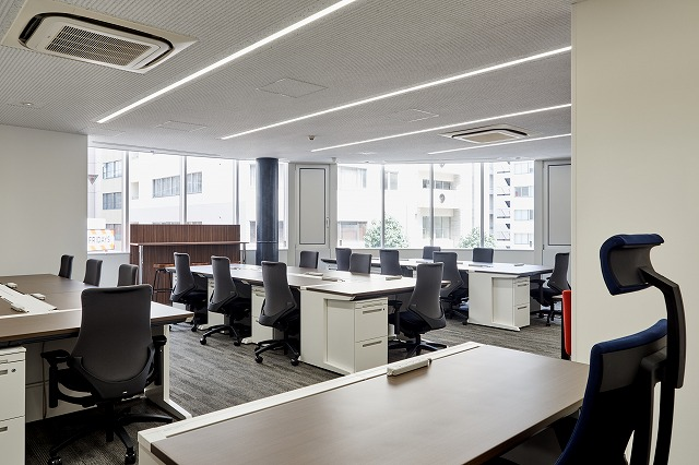 【居抜き】渋谷、30~60坪。<br>築浅ガラスウォールのハイグレードオフィス