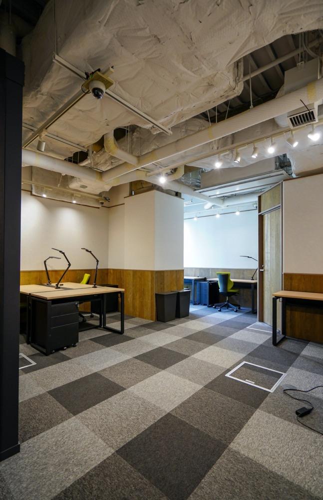 【デザイナーズ】渋谷、10坪台オフィスとラウンジスペース。<br>約5名~10数名向け。