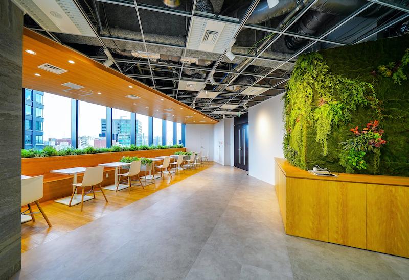 【居抜き】半蔵門、150~200坪。 開放感あふれるデザインオフィス。