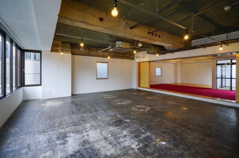 【デザイナーズ】茅場町、約35坪。 シャワールーム付きの最上階オフィス