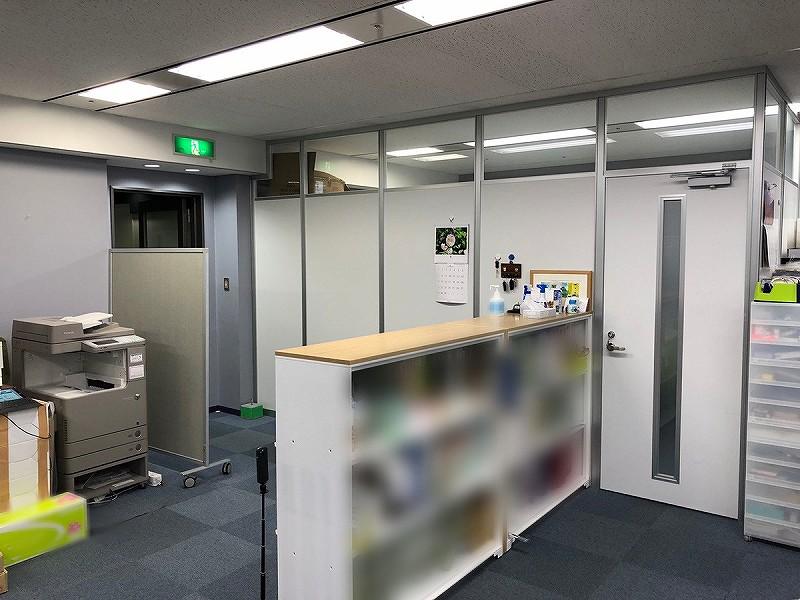 【居抜き】梅田、約60坪。 完全間仕切りの会議室付き、居抜きオフィス