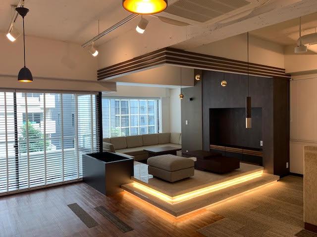 【セットアップ】人形町エリア、高級感のある内装付きオフィス