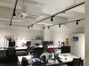 【居抜き】神田エリア 什器付き デザイナーズオフィス 25坪