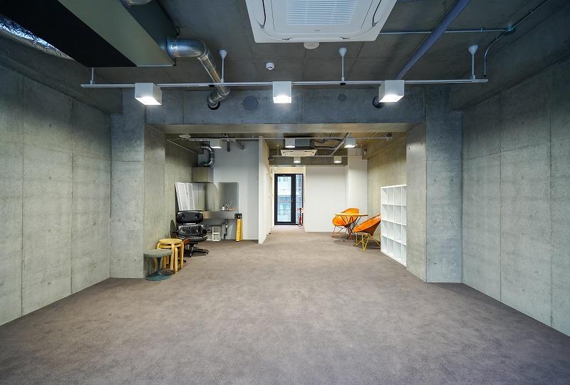 【デザイナーズ】渋谷、約17坪。 ガレージっぽさを求める企業へ