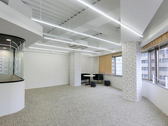 【セットアップ】利便性高い神田エリア  コンパクト内装付きオフィス
