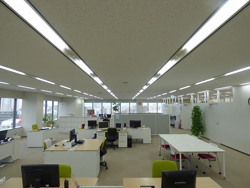【居抜き】大阪市中央区!大阪城と大阪の街を一望出来る綺麗な居抜きオフィス