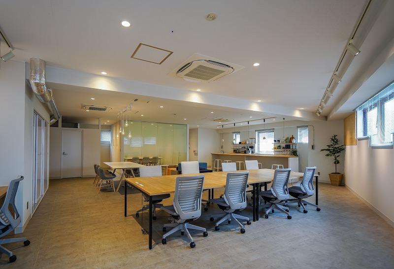 【セットアップ】目黒不動前、約40坪。敷金・礼金ゼロの家具付きデザイナーズオフィス。