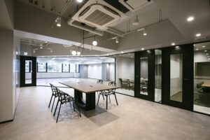 【セットアップ】港区 山手線沿線のおしゃれな内装付きオフィス!