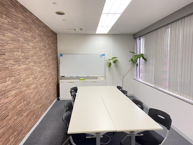【居抜き】四ツ谷エリア  大小会議室2つのシンプルなオフィス