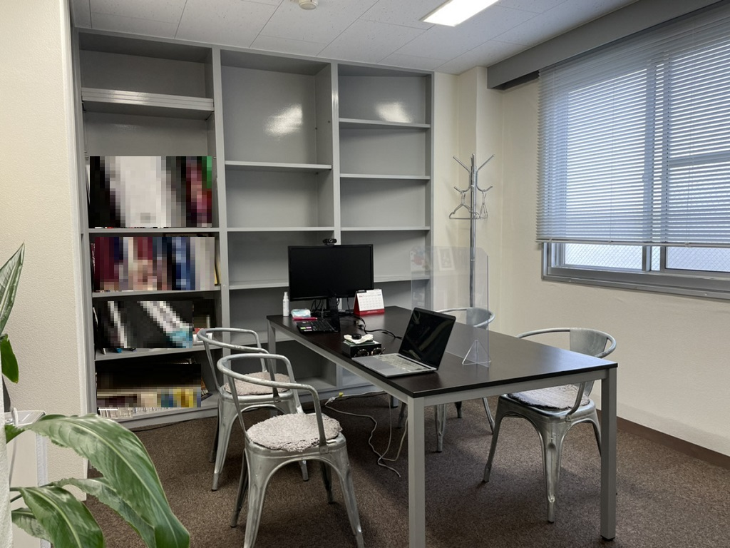 【居抜き】新宿エリア 受付、会議室付き!使い勝手の良い居抜きオフィス