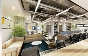 【セットアップ】IT企業の集積地 渋谷・神山町 高級感ある家具付きオフィス