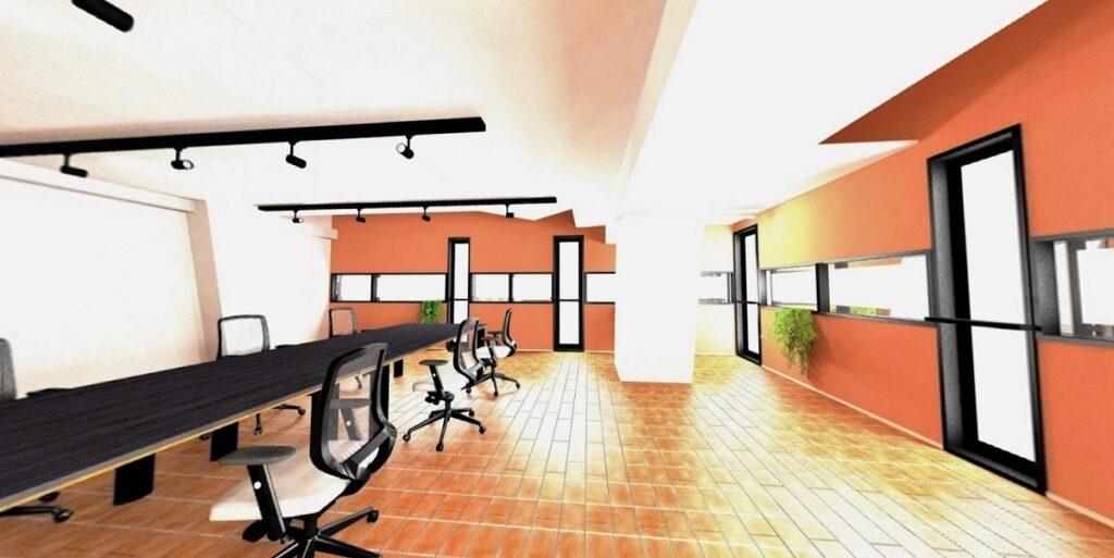 【セミオーダーオフィス】オフィスナビオリジナル!メゾネットタイプを活かした3パターンのデザイナーズ物件!